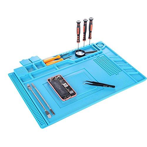 Accesorios para móviles silicona-almohadilla-para-reparacin-resistente-al-calor-almohadilla-de