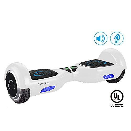 Patinetes eléctricos smartgyro-x2-white-patinete-elctrico-con-certificado-ul2272-ruedas-run-flat