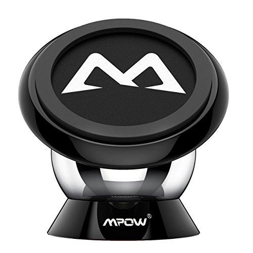 Accesorios para móviles soporte-magntico-universal-con-pegatinas-metalicas-mpow-iman-mvil-coche-