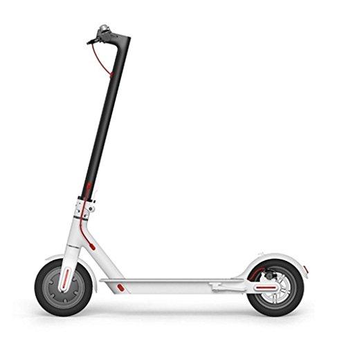 Patinetes eléctricos xiaomi-mi-scooter-patinete-elctrico-plegable-30-km-alcance-25kmh-blanco