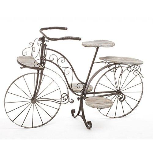 Inicio bicicleta-porta-plantas-decorativa-jardinera-de-madera-de-roble-y-hierro
